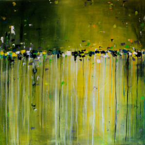 Mixed Media Painting by Oregon Artist, Contemporary Art