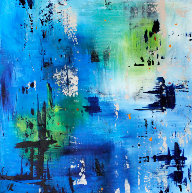 Abstract Expressionism, Oregon Artist, Cammy Davis, Abstract