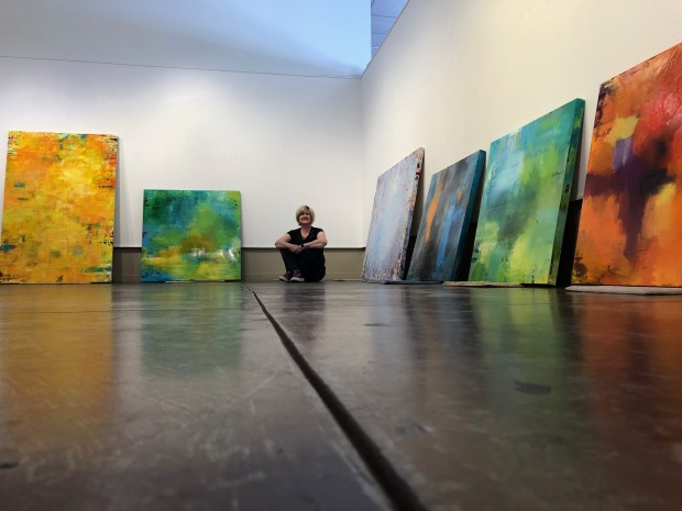 Abstract Expressionist, Gallery Artist
